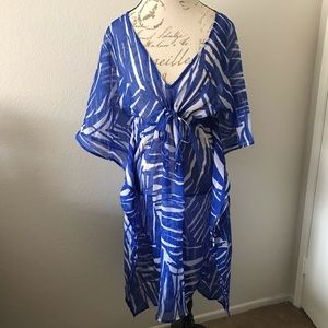 Beach Cover Up Bathing Suit Sheer One Size